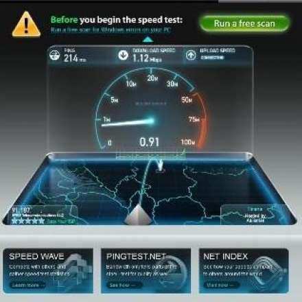 Testoni shpejtësinë e internetit dhe shijoni dizajnin e ri të Speedtest.net Speedtest.net