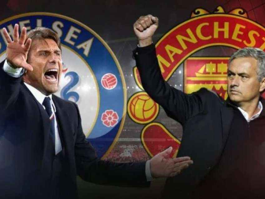 Formacionet zyrtare: Chelsea – Manchester United