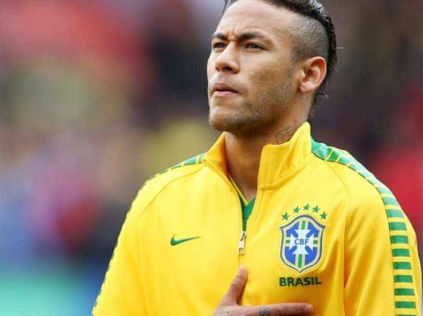 Neymar 'trembë' Brazilin