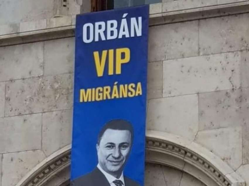 """Gruevski, VIP migranti i Orban-it"""