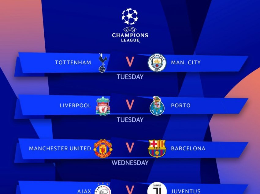 Ethet e Champions League