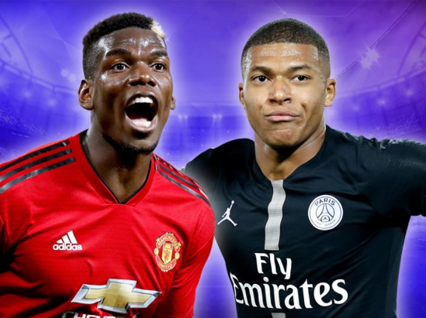 Manchester United – PSG, formacionet zyrtare