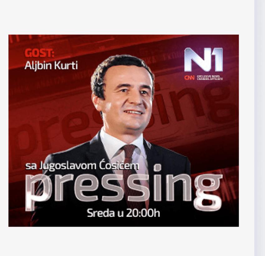 Pas bombardimeve te NATO s  1999  vjen  bombardimi  i dyte nga Albin Kurti  2019  mbi Serbine e Vucicit