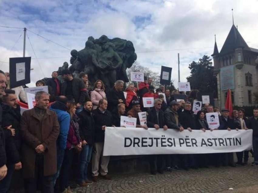 Zvicër  në Gjenevë dhe Bernë u mbajtën marshe për Astrit Deharin ku kërkohet drejtësi  I dergohet leter OKB së dhe Strasburgut