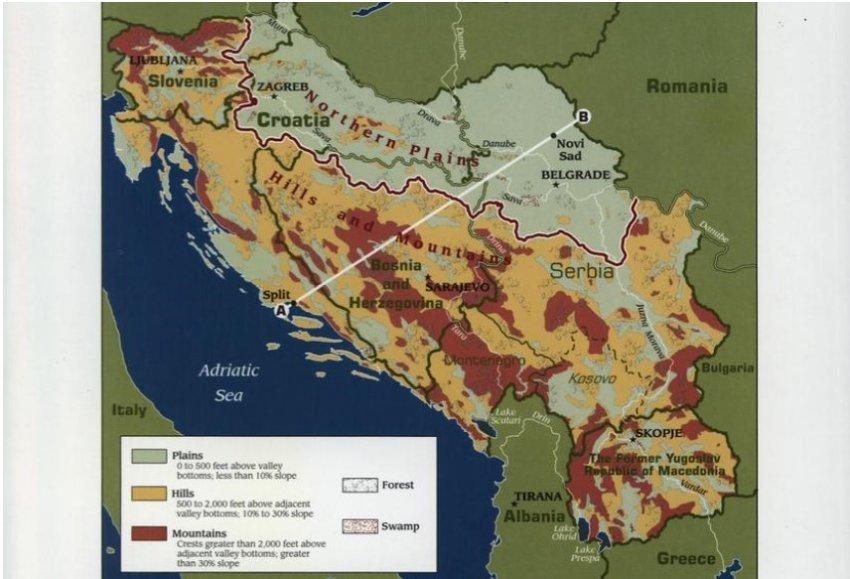 CIA në vitin 1970 për Jugosllavinë pas Titos: Potencial për katastrofë