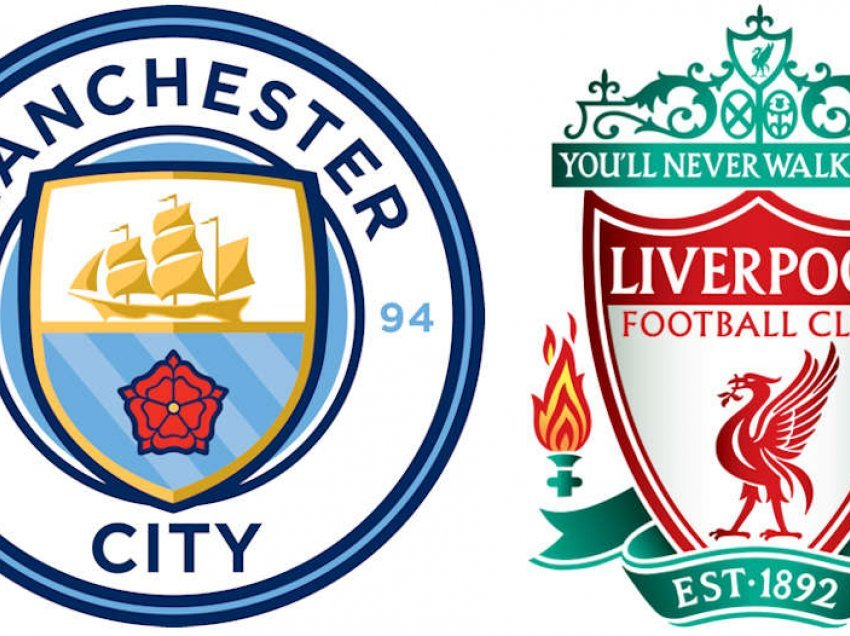 Formacionet zyrtare: Manchester City – Liverpool