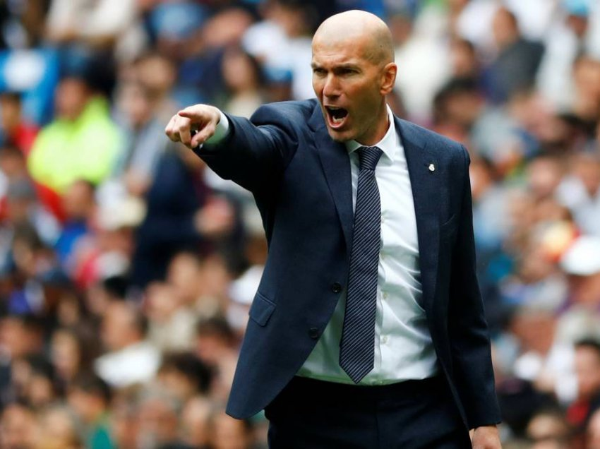 Real Madrid, Zidane refuzon yllin e Premier League