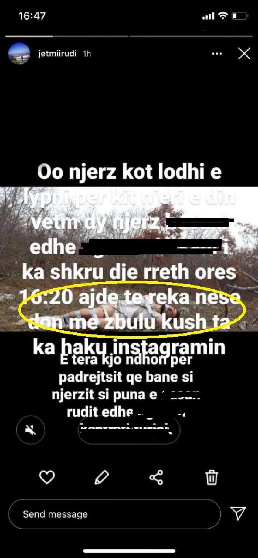 Pamje të rënda: Jetmir Rudi nga Malisheva po mbahet i lidhur në mal dhe i  zhveshur, publikohen fotot - Bota Sot
