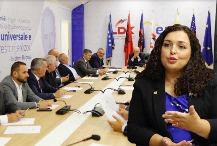 """Zbardhen emrat që do t'i bashkohen Vjosa Osmanit në """"Lëvizjen e Re Demokratike të Kosovës"""""""