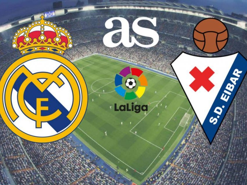 Publikohen formacionet zyrtare Real Madrid – Eibar
