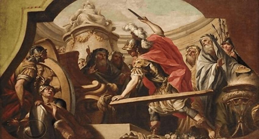 Aleksandri i Madh dhe nyja e Gordit