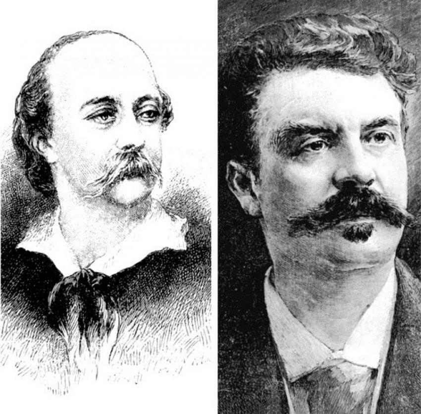 """1880/Kur Gustave Flaubert mbështeste Guy de Maupassant pas akuzave ndaj poemës si tij """"Au bord de l'eau – Në buzë të ujit"""" – letra ekskluzive botuar në """"Le gaulois"""""""