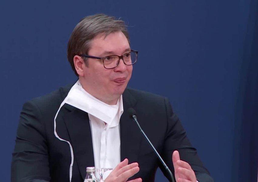 """Vuçiq rreth """"non paper"""": Serbia nuk mundet dhe nuk guxon të pranojë Kosovën"""