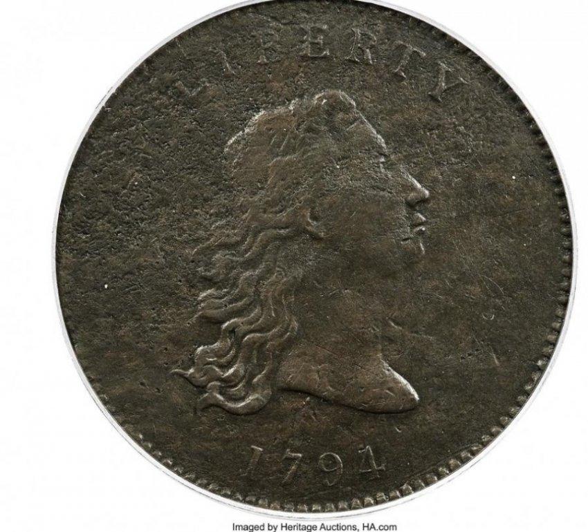 Prototipi i monedhave të para të dollarit amerikan shitet për 840 mijë dollarë