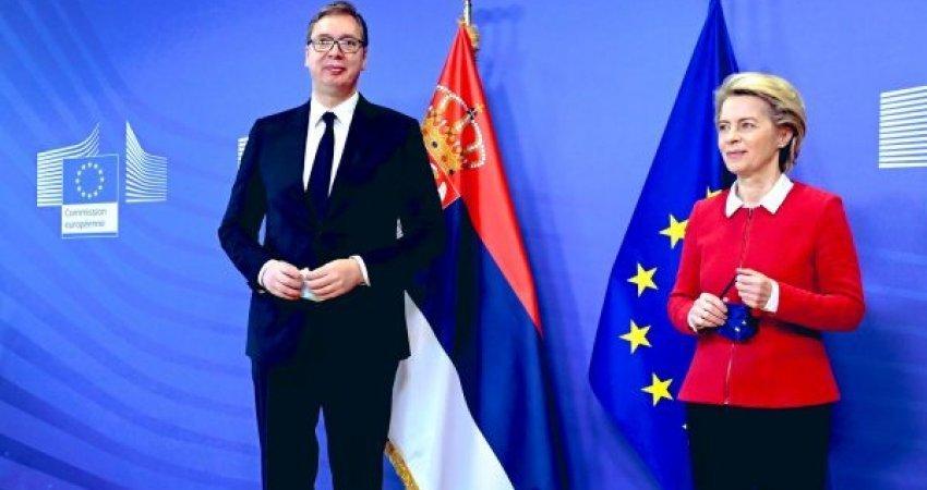 Për çfarë e kishte fjalën Vuçiqi kur paralajmëroi ndryshime? - Tregon presidentja e Komisionit Evropian