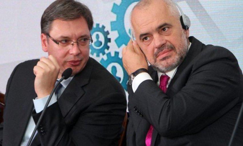 'Çmenden' në Beograd, kërkojnë t'iu ndahet çmimi Nobel, Ramës dhe Vuçiqit