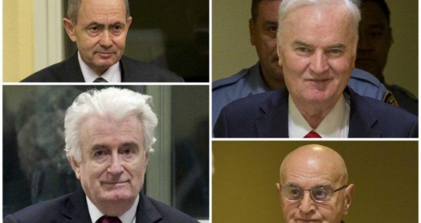 Emrat/ Këta janë serbët që janë dënuar përjetësisht për mizori në ish-Jugosllavi