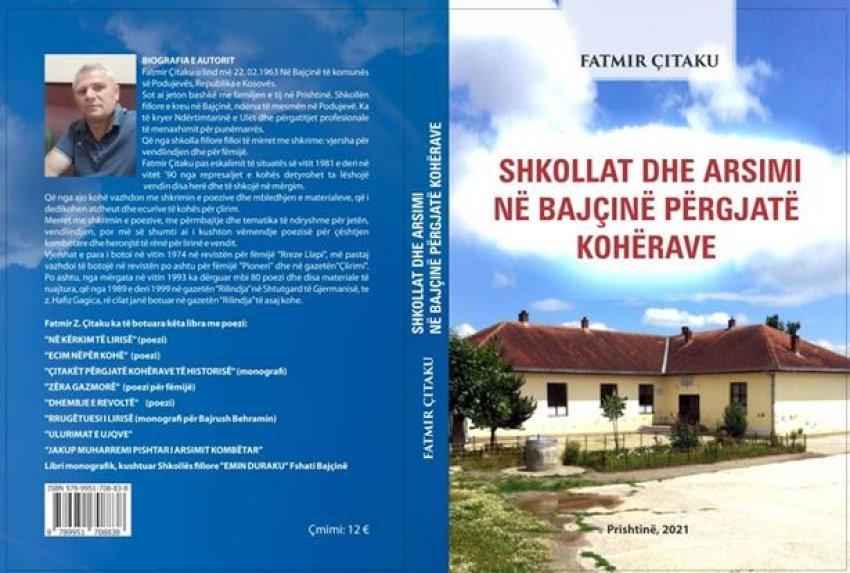 ne-diten-e-clirimit-te-besianes-autori-citaku-lexuesve-llapjane-ua-sjell-librin-shkollat-dhe-arsimi-ne-bajcine-pergjate-koherave
