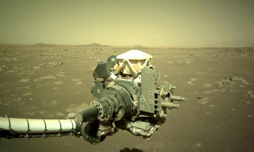 Regjistrohet zhurmë në Mars
