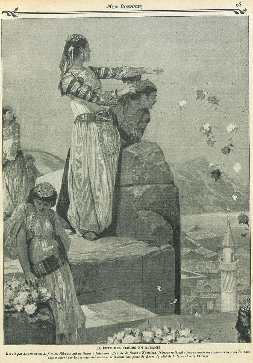 """Revista franceze (1910)/""""Festa e Luleve"""" në Shqipëri i dedikohet heroit kombëtar Gjergj Kastrioti. Ja çfarë bëjnë shqiptarët një ditë para dhe gjatë saj"""