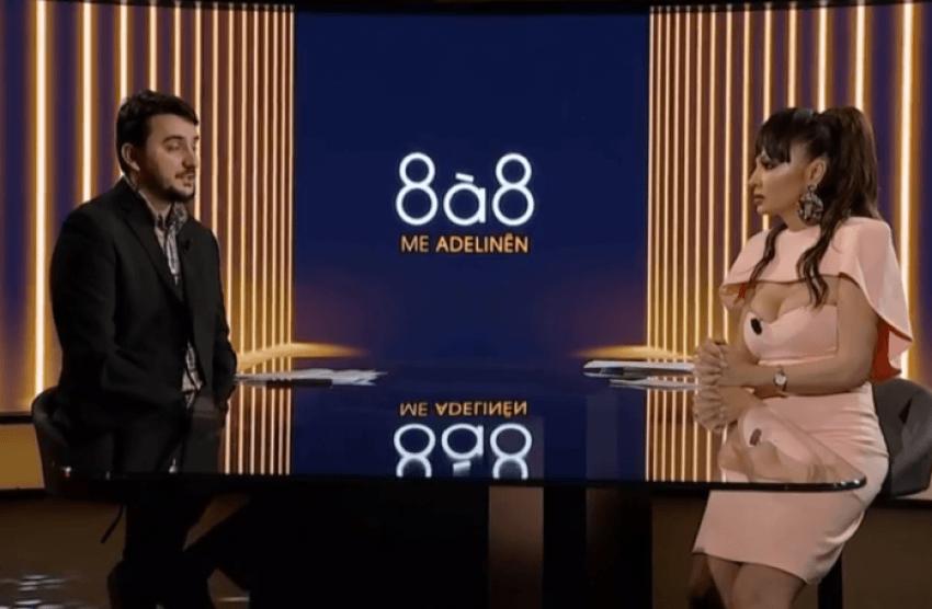 """Adelina Ismaili i kërkon falje hoxhës Drilon Gashi për """"veshjen provokative"""" në emisionin me të"""