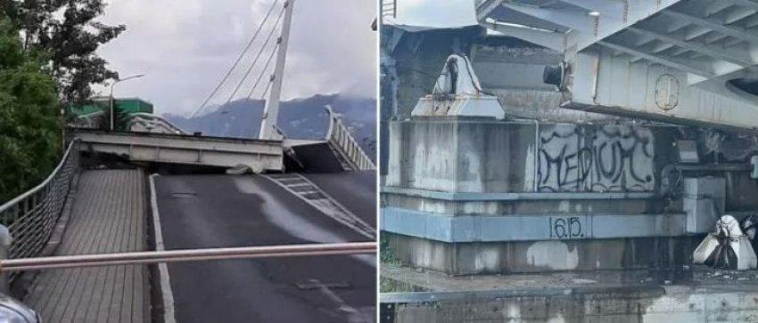 Shembet ura lëvizëse në Itali, fatmirësisht nuk ka të plagosur