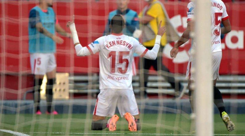 Sevilla gjunjëzon Valencian, presion Realit dhe Barcelonës