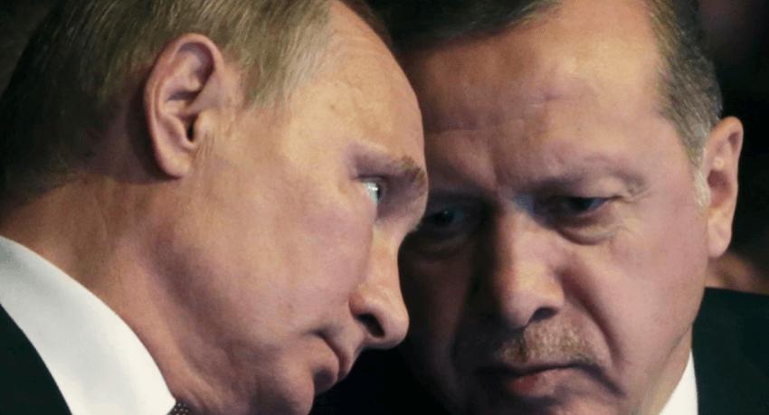 Erdogan dhe Putin diskutojnë për situatën në Lindjen e Mesme