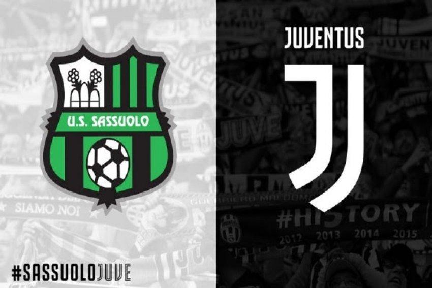 Sassuolo-Juventus, publikohen formacionet zyrtare