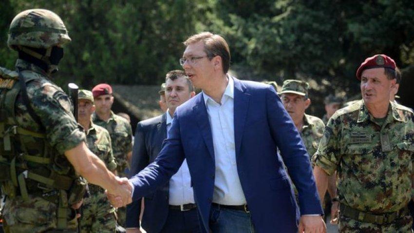 Ata na tregojnë forcën? Aleksandar Vuçiç kërcënon me luftë: Ta provojë Kosova dhe do ta shohin
