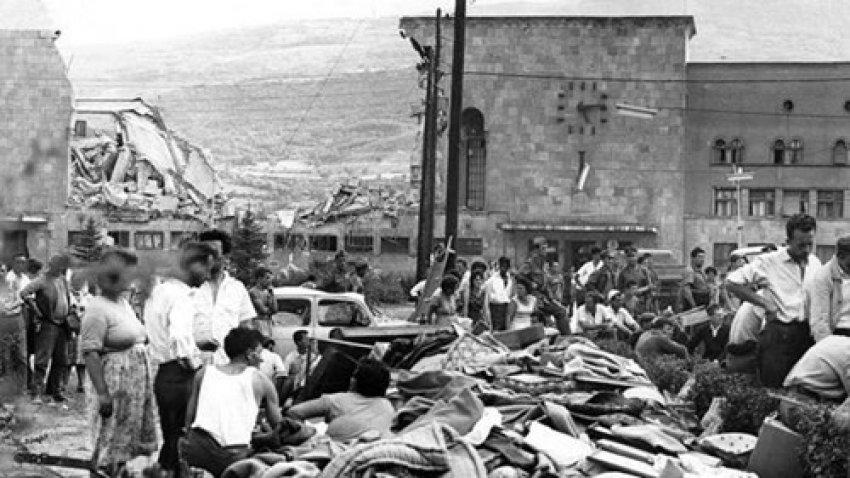 Shkupi dhe tërmeti i vitit 1963