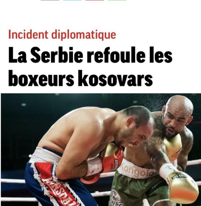 Gazetat zvicerane e quajnë incident diplomatik skandalin e Serbisë me boksierët e Kosovës