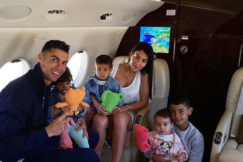 Ronaldo ndan gëzimin e madh