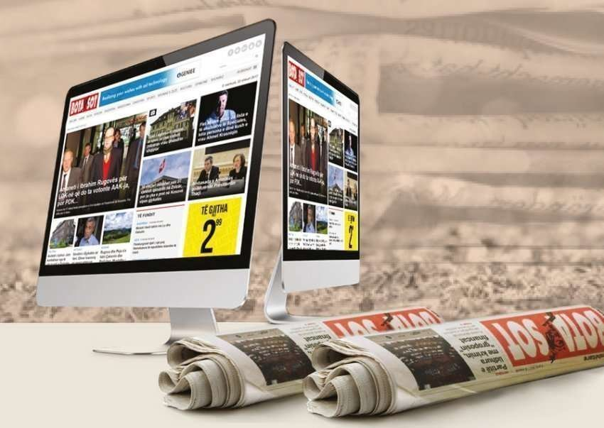 """Gazeta """"Bota sot"""" shpall konkurs për gazetarë"""