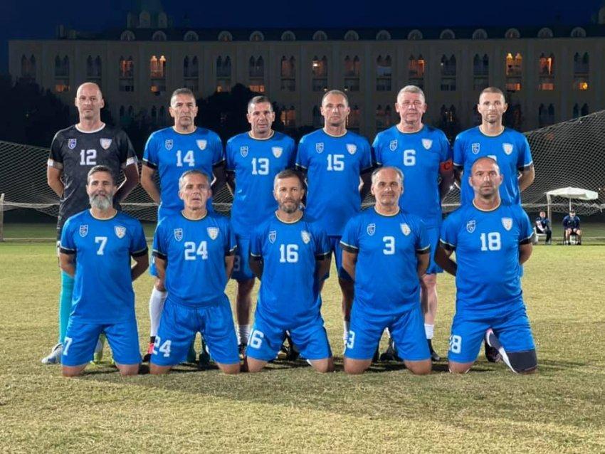 Veteranët e Kosovës u ndeshën me Irakun, ky është rezultati