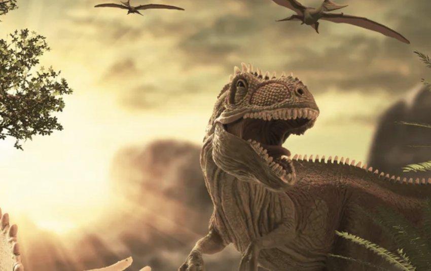 Studimi i ri: Dinozaurët ishin tashmë në zhdukje, para se të zhdukeshin nga asteroidi