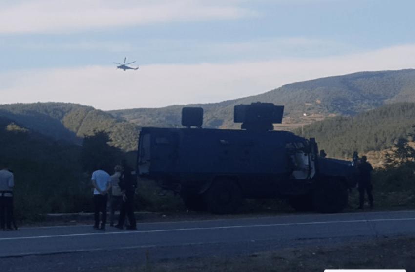 Detajet e fundit/Publikohet videoja e tre helikopterëve të Serbisë në zonën Jarinje